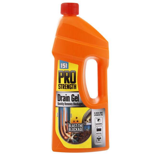 Duzzit Pro Strength Drain Gel 1 Litre