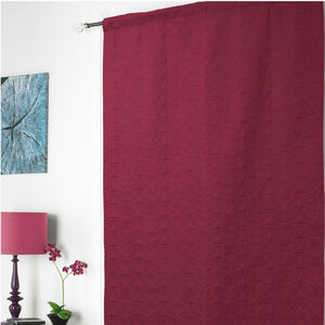 Embossed Thermal Wine Door Curtain