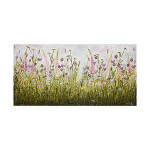 Foxglove Haven Canvas 50x100cm