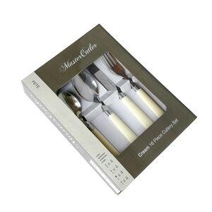 Master Cutler 16 Piece Cutlery Set - Cream