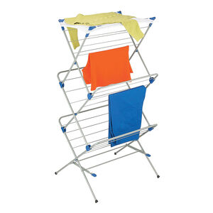 3 Tier Airer with Top Drying Clothes Net