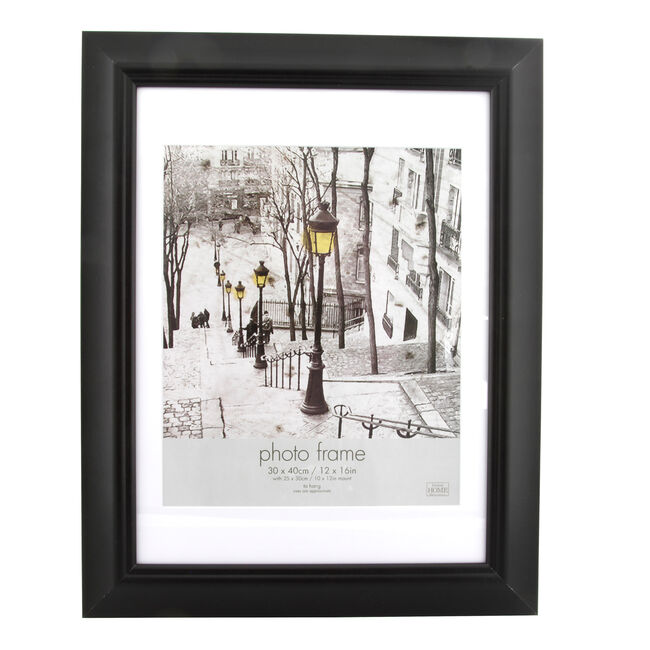 Simply Black Photo Frame 10 X 12 Home Store More