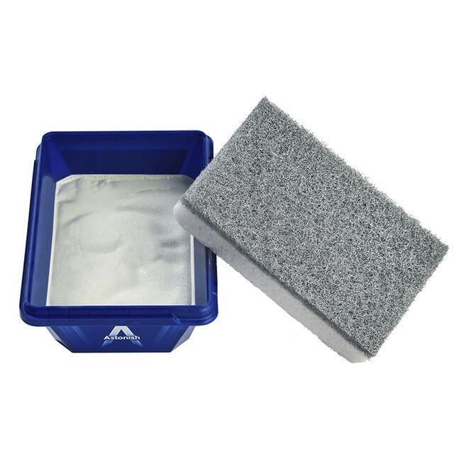 Astonish Premium Stainless Steel Cleaner & Sponge