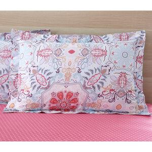 Alannah Oxford PIllowcase Pair - Pink