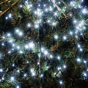 500 WHITE LED Cluster Lights