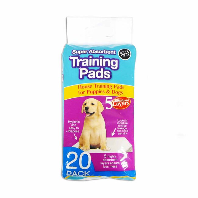 Puppy Training Pads 20 Pack