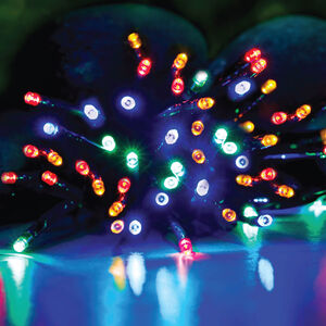 LED Multicoloured Lights 50 Pack