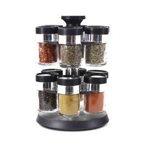 Revolving Circular Spice Jars Set 12 Pce