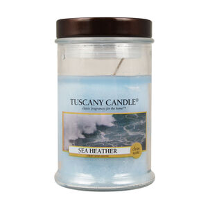Tuscany 3.5oz Candle Sea Heather