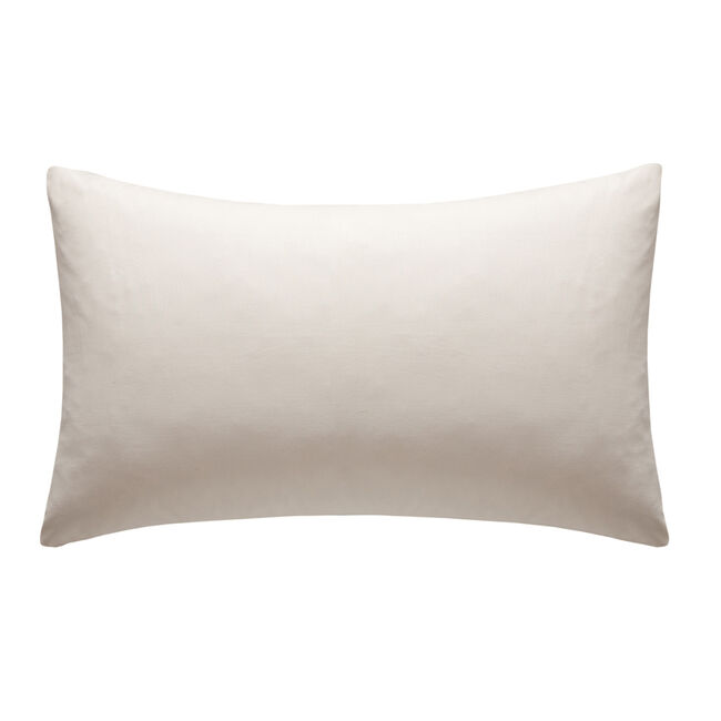 Percale Cream Housewife Pillowcases