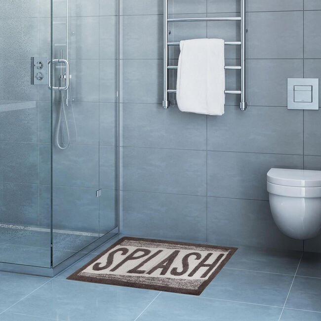 Slash Bath Mat 50 x 80cm - Grey