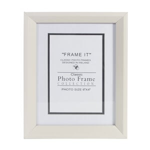 Cream Photo Frame 4x6""