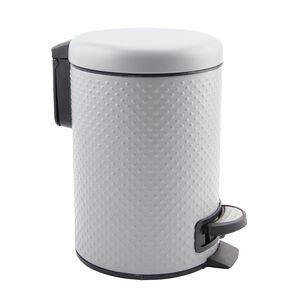 Hammered Grey 3L Pedal Bin