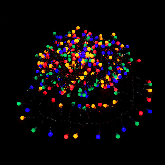 500 LED Berry Cluster Lights - Multicolour