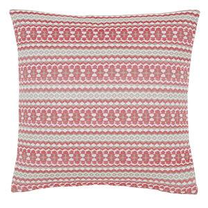 Summer Geo Red Cushion 58cm x 58cm