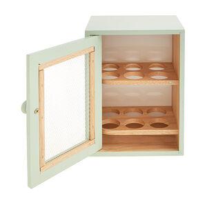 Apollo Rubberwood Egg Cabinet - Mint