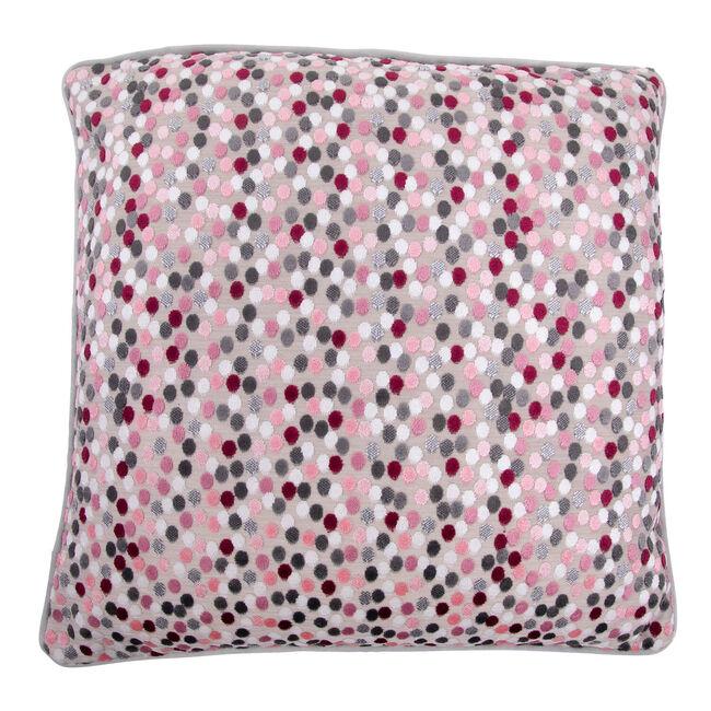 Sophie Spot Cushion 58 x 58cm - Pink