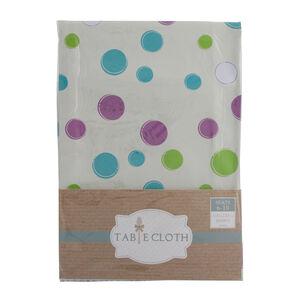 Polka Dots Multi Table Cloth 160cm x 230cm