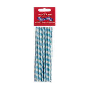 Mason Cash Blue Stripe Lollipop Sticks