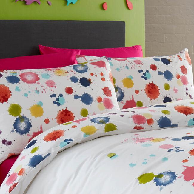 Paint Splatter Cushion 30cm x 50cm