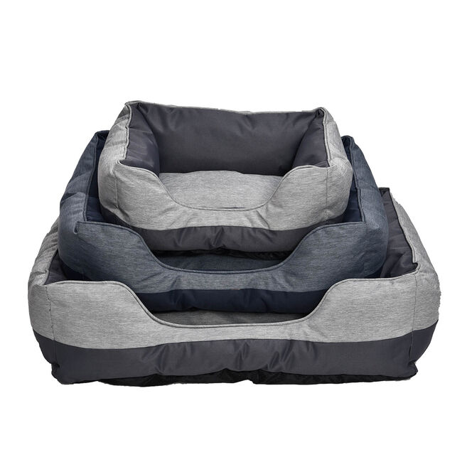 Perfect Paws Luxury Oxford Pet Bed - Large