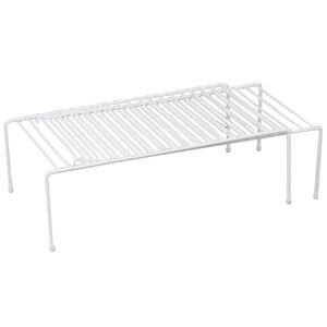 Expanding Cabinet Shelf White