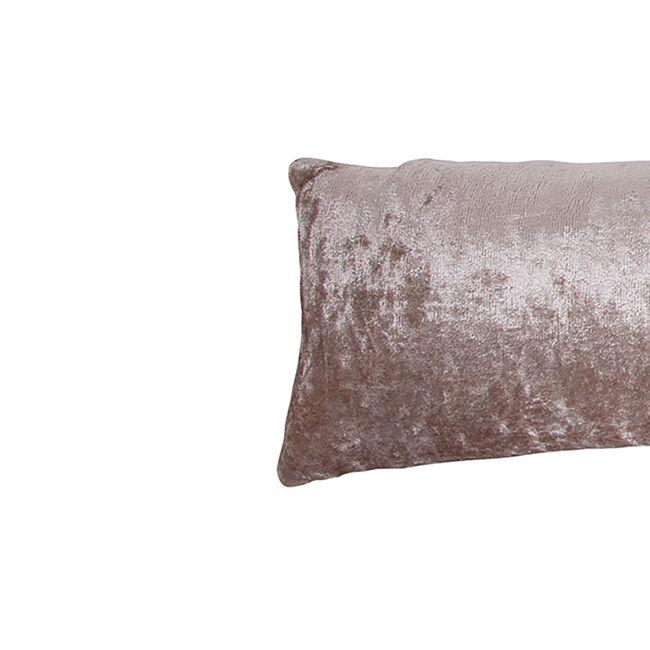 Velvet Crush Draught Excluder 22 x 90cm - Honey