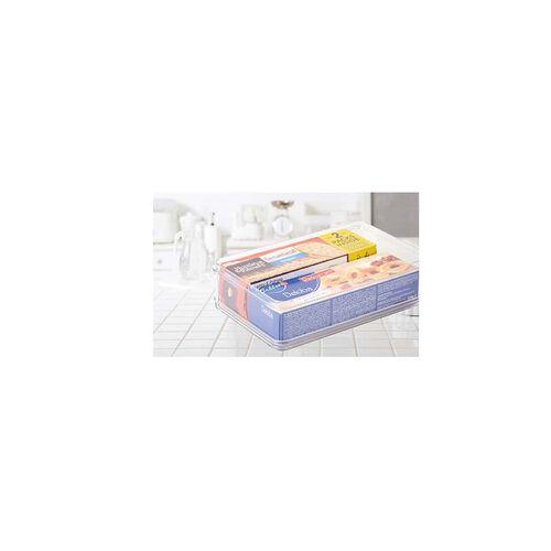 Fridge & Freezer Bin With Lid  27.6x17.3x12.4cm