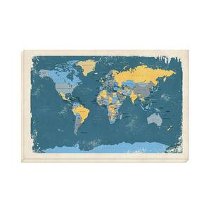 World Map 60cm x 90cm