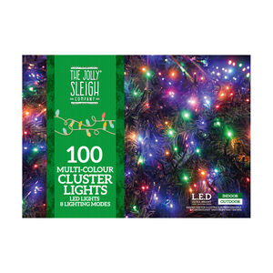 100 Multicolour LED Cluster Lights