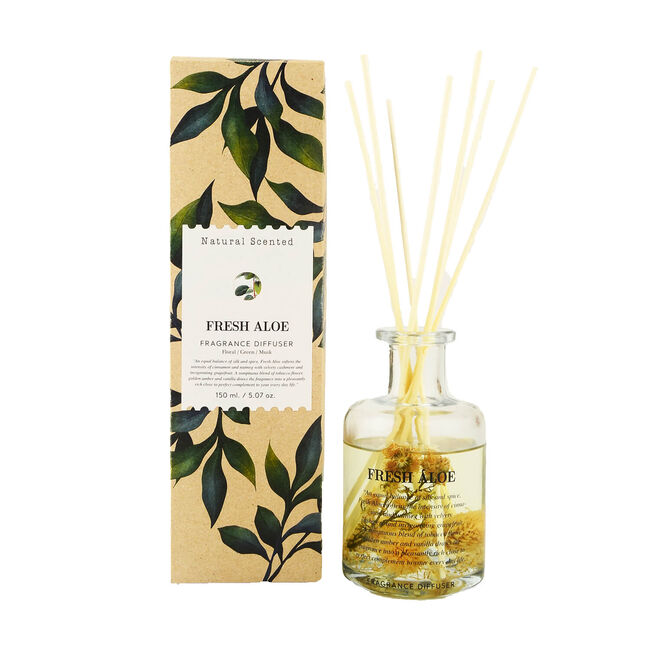 Natural Craft Fresh Aloe Reed Diffuser