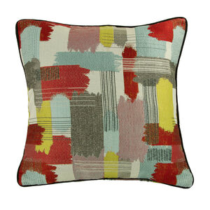 Retro Paint Stripe Cushion 45cm x 45cm