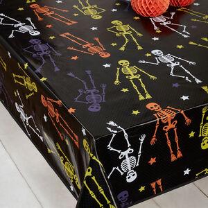 Skeletal Star Web PVC Table Cloth 160x230cm