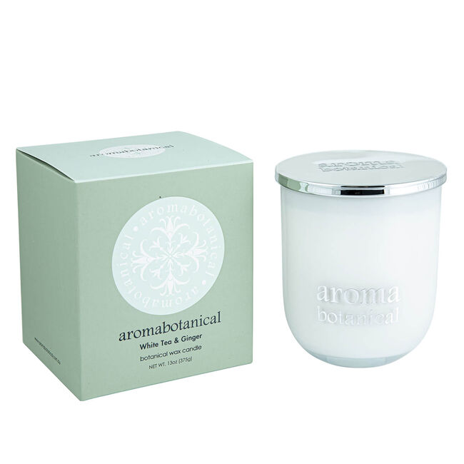 White Tea & Ginger Large Candle Jar 2 Wick