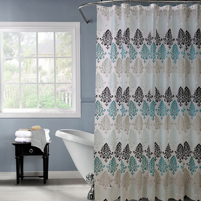 Peva Shower Curtain Trees