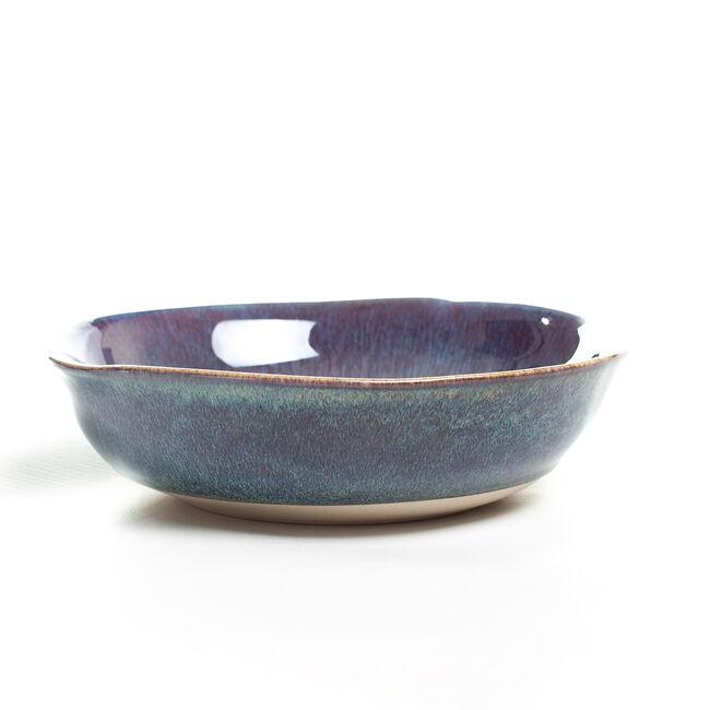 Heritage Halo Dark Blue Cereal Bowl