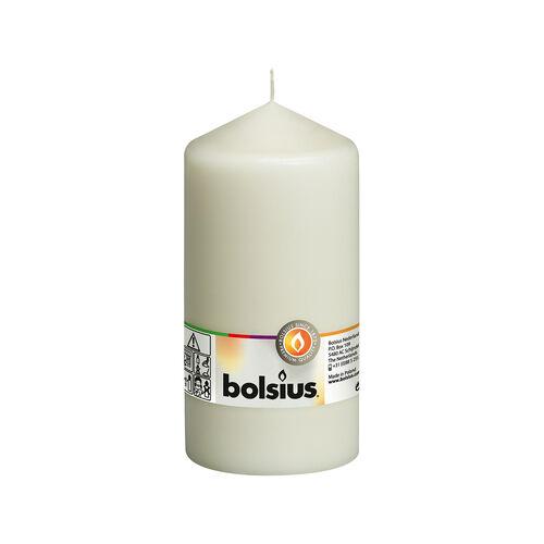 Bolsius Ivory Pillar Candle 15cm x 8cm