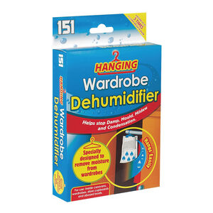 Hanging Wardrobe Dehumidifier