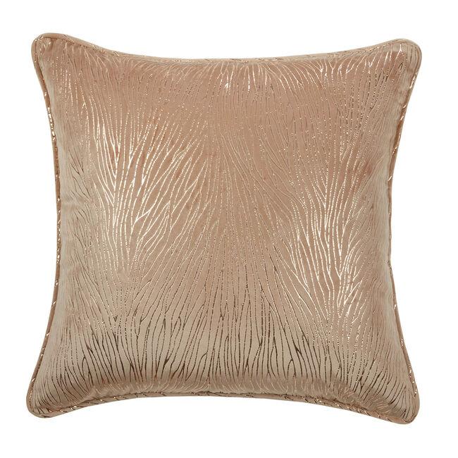 Phoenix Lurex Cushion 45 x 45cm - Natural