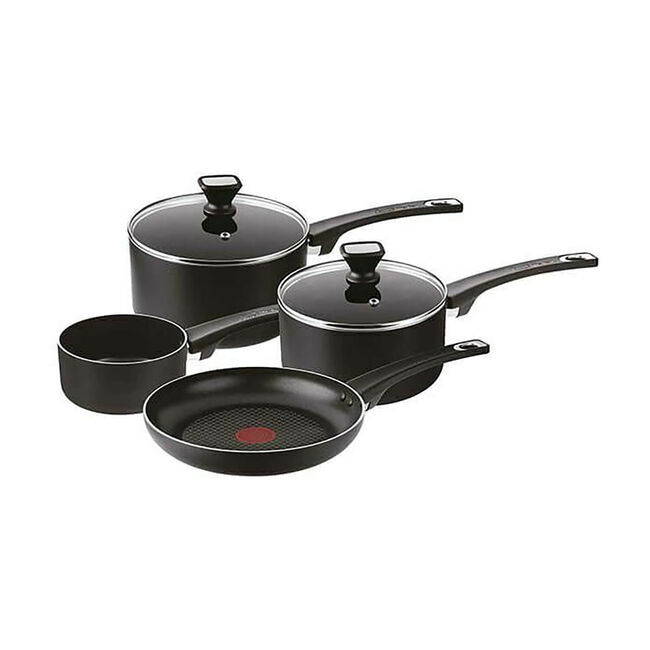 Tefal Induction Essential Cookware Set 4 Piece