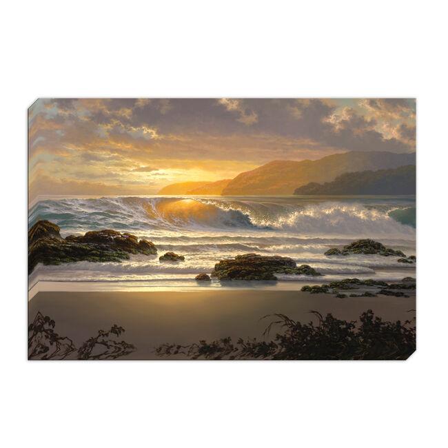 The Golden Surge Canvas 60cm x 90cm