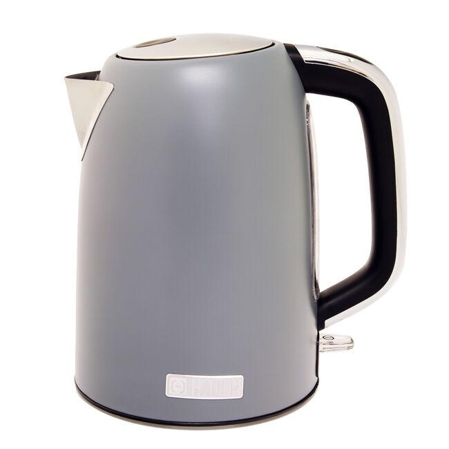 Sabichi Perth Sleek Jug Kettle 1.7L - Slate Grey