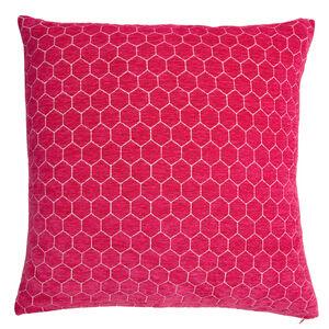 Honeycomb Cushion 58x58cm - Pink