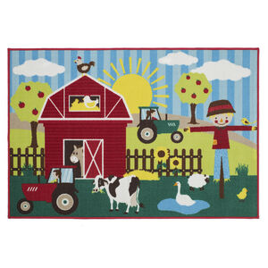 Farm Friends Children's Floormat 100cm x 150cm