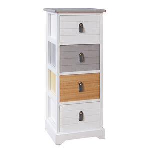 Carolina 4 Drawer Unit