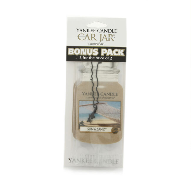 Yankee Candle Sun & Sand Car Jars 3 Pack