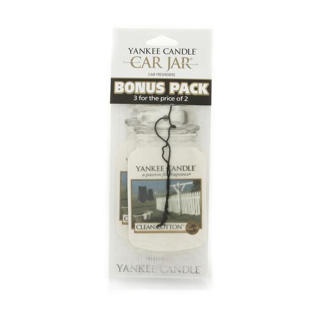Yankee Candle Clean Cotton Car Jars