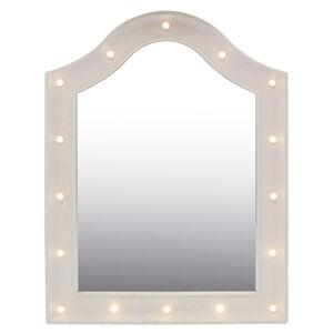 Spotlight Dresser White Mirror w/LED Bulbs 45x62cm