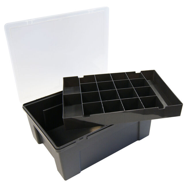 Organiser Graphite with Removable Tray