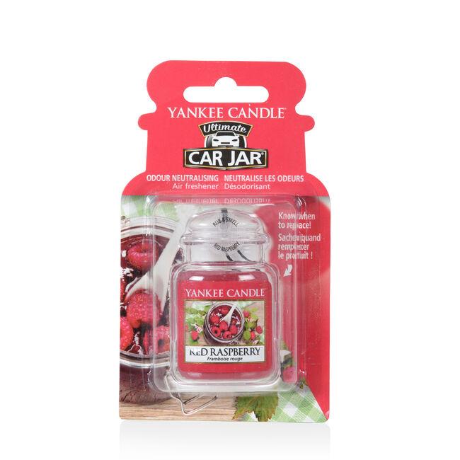 Yankee Candle Red Raspberry Ultimate Car Jar